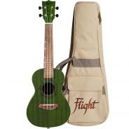 Flight DUC380 Kit Ukulele Concerto Jade Verde con Custodia