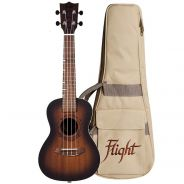 Flight Gemstone DUC380 Kit Ukulele Concerto Ambra con Custodia