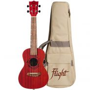 Flight Gemstone DUC380 Kit Ukulele Concerto Corallo con Custodia