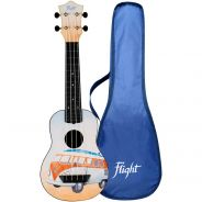 Flight Kit Ukulele Soprano Bus in ABS con Borsa