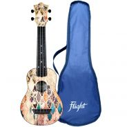 Flight Kit Ukulele Soprano Granada in ABS con Borsa