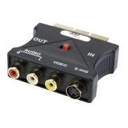 DMT - FV10 Scart adapter - Adattatore di trasmissione multipla video ingresso e uscita