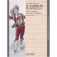 1 G. Rossini Ricordi Il Barbiere di Siviglia Spartito Canto e Pianoforte