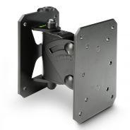 Gravity SP WMBS 20 B - Supporto da muro inclinabile e orientabile per casse fino a 20 kg, nero