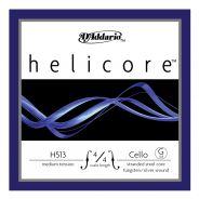 D'ADDARIO H513M 4/4 - Singola per Violoncello Helicore Medium (G/Sol)
