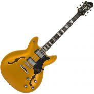 Hagstrom Viking Gold Top - Chitarra Jazz Semiacustica Justin York Signature