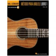 1 Hal Leonard Ukulele Metodo Book 1 Libro + Audio-online Spanish Edition