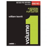 Hal Leonard William Leavitt Metodo Moderno per Chitarra Volume 1 2019