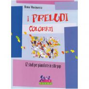 Curci Young I Preludi Colorati - 12 Studi per Pianoforte in Stile Pop