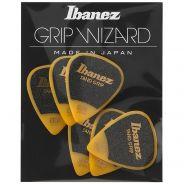 Ibanez PPA14HSG-YE - Plettri Gialli Serie Grip Wizard Sand Grip 1.00mm (6pz)