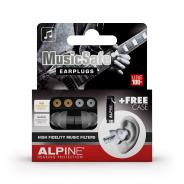 0 ALPINE MUSICSAFE - Kit Auricolari Per Musicisti Uditiva Con 2 Filtri Attenuazione E Travelbox
