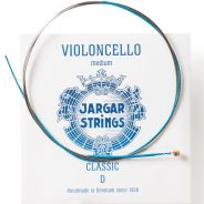 0 Jargar RE BLUE MEDIUM PER VIOLONCELLO JA3002 Corde / set di corde per violoncello