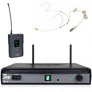 JTS E-7R/E-7TB - Radiomicrofono UHF con Bodypack e Archetto Carne