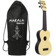 Kala KA-SWB-YL - Ukulele soprano Waterman - Pale Yellow Matte - c/borsa Ukulele