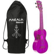 Kala KA-SWF-PL - Ukulele soprano Waterman - Fluorescent Purple Grape - c/borsa Ukulele