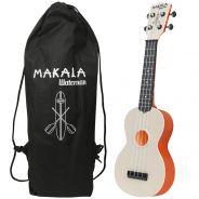 Kala Makala MK-SWT/OR Ukulele Soprano Waterman Orange