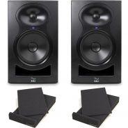 1 Kali Audio LP-8 Coppia Monitor Attive 100W 8 + 2 Pad Isolante (26,5x33x4cm)