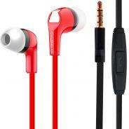 1 Karma IP 760R Auricolare Stereo Rosso con Microfono per Smartphone Tablet