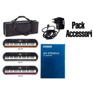 Accessori Pack Alimentatore / Custodia KeyBag / MiniBag Casio per Tastiere / Pianola SA76 / 77 / 78