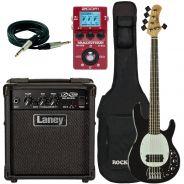 Eko MM305 Black Pack con Laney LX10B Zoom MS-60B Borsa e Cavo