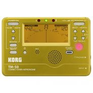 KORG TM-50 GD - Accordatore / Metronomo Gold