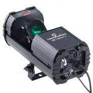0 SOUNDSATION - Scanner 30W LED COB RGB con 9+1 gobos