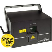 Laserworld DS-3000RGB con ShowNET - Laser 2800 mW