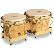 Latin Percussion M201-AW Bongos Matador Wood