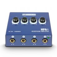 0 LD Systems HPA 4 - Amplificatore per Cuffie a 4 Canali