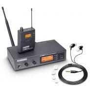 0 LD Systems MEI 1000 G2 - Sistema di Monitoraggio Individuale senza Fili