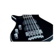 WARWICK RB STREAMER STANDARD 5 2HB BLACK HIGHPOLISH LEFT-HANDED - Basso Elettrico Mancino 5 Corde Black Highpolish