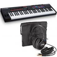 M-Audio Oxygen Pro 61 Bundle Shure SRH440 Cuffie