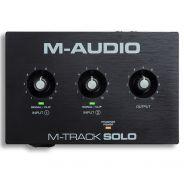 M-Audio M-Track Solo - Interfaccia Audio USB per Mac e PC