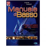 1 Manuale di Basso + Dvd A. Rosatelli Carisch Corso Principianti