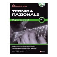Carisch Massimo Varini Tecnica Razionale - Esercizi di Tecnica per Chitarra Libro + DVD