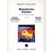 Ries & Erler Melodische Etüden - Studi Melodici per Violino in Seconda e Terza Posizione