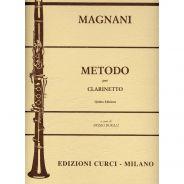 Edizioni Curci A. Magnani Metodo per Clarinetto