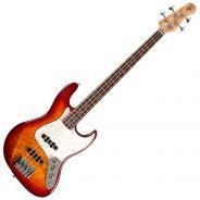 Michael Kelly Guitars Element 4Q Aged Cherryburst - Basso Elettrico 4 Corde
