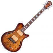 Michael Kelly Guitars Hybrid Special Spalted Burst - Chitarra Ibrida Elettrica/Acustica