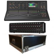 Midas M32 Live con Stage Box DL32 e Flight Case