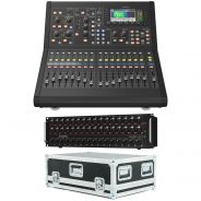 Bundle Midas M32R Live Mixer Digitale 32 Ch con Stage Box DL32 e Flightcase