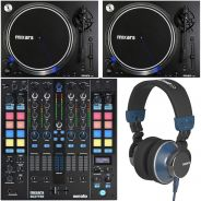 Mixars Set Up per DJ - Mixer / Coppia Giradischi / Cuffie