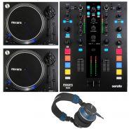 Mixars Mixer per DJ Duo MKII / Coppia Giradischi LTA / Cuffie MXH-22