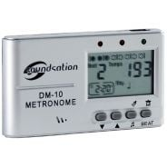 0 SOUNDSATION - Metronomo compatto con altoparlante e uscita cuffia
