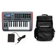 NOVATION Pack IMPULSE 25 / Pedale Sustain / Borsa Bundle