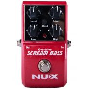 NUX SCREAM BASS - Overdrive per Basso