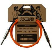 Orange Crush Cavo Speaker Jack Mono / Jack Mono 1mt