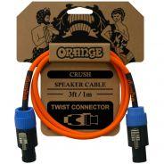 Orange Crush Cavo Speaker Speakon Twist / Speakon Twist 1mt