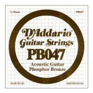D'ADDARIO PB047 - Singola per Acustica Phosphor Bronze (047)