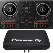 Pioneer DDJ 200 Controller DJ 2Ch per Pc Mac Android e iPhone con Borsa